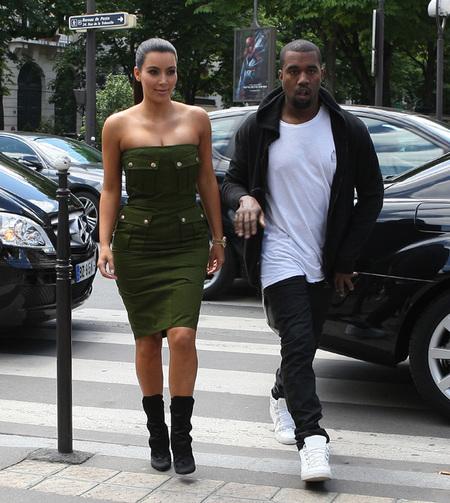 Kim Kardashian lo tiene claro, la boda después del bebé