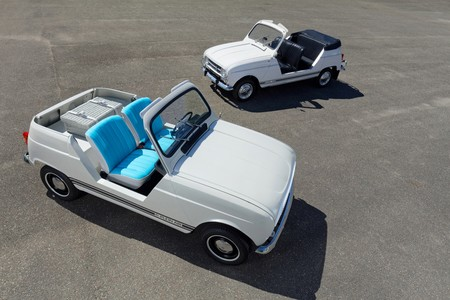 Renault e-Plein Air: la transformación del clásico Renault 4 en un precioso coche eléctrico con aspecto retro