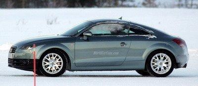 Primeras fotos reales del nuevo Audi TT