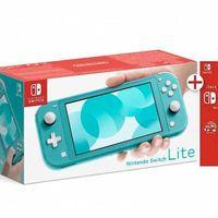 En eBay, sigues teniendo disponible la Switch Lite con Super Kirby Clash y 90 días de Nintendo Online por 208,95 euros usando el cupón PDESCUENTO5