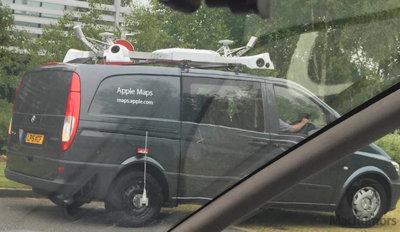 Los coches de Apple Maps se dejan ver en Inglaterra