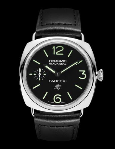 Reloj Radiomir Black Seal de Panerai, el lujo de la sencillez