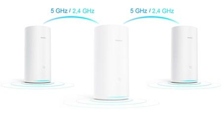 Huawei WiFi Mesh, el nuevo router en malla con velocidades de 2,2 Gbps y cobertura de 600 m2