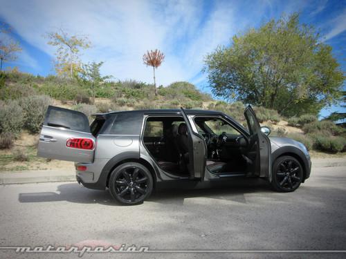 MINI Clubman 2015 o cómo pasar de ser un coche cool a un familiar muy práctico