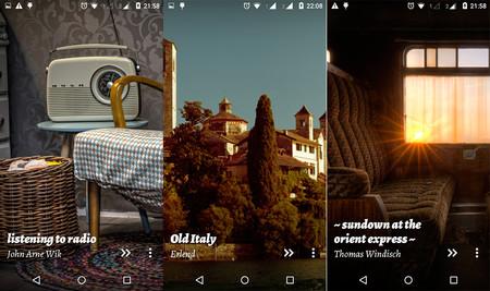 Android fondos de pantalla Vintage