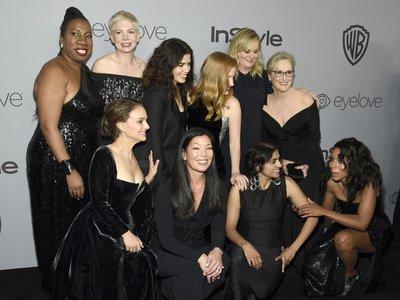 ¿Quiénes eran las activistas que acompañaron a las celebrities sobre la alfombra roja de los Globos de Oro?