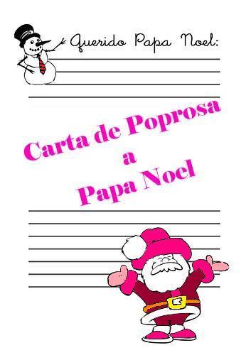 ¿Qué le pediría Poprosa a Papa Noel?