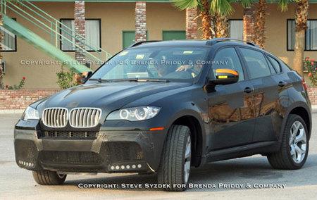 BMW X6 M Spy shot