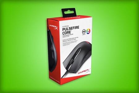 Mouse gamer HyperX Pulsefire Core por tan solo 319 pesos en Amazon México: con luz RGB y siete botones programables
