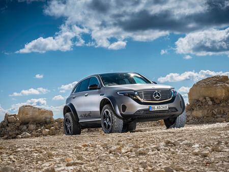 Este Mercedes-Benz EQC 4x4² brutalizado y con 400 CV es la precuela del próximo Clase G eléctrico