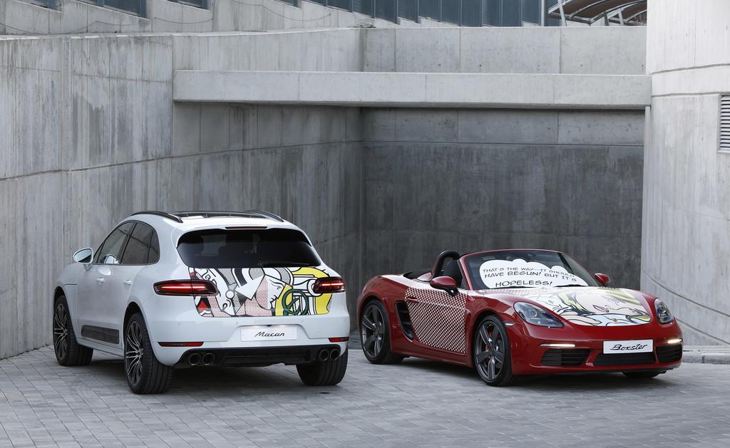 Porsche sigue siendo pop esta vez con roy lichtenstein - Centro porsche alicante ...
