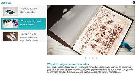 Wemories - web
