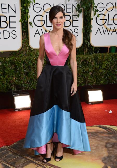 Prabal Gurung Sandra Bullock Globos de Oro 2014