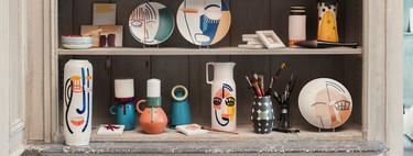 Artesanía y vanguardia, las claves de la original colección de jarrones de Habitat