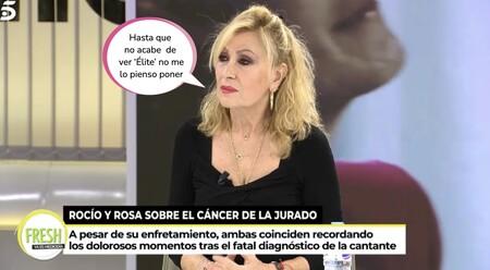 """Rosa Benito, muy afectada, se niega a ver el documental de Rocío Carrasco: """"Todo es odio y rencor"""""""