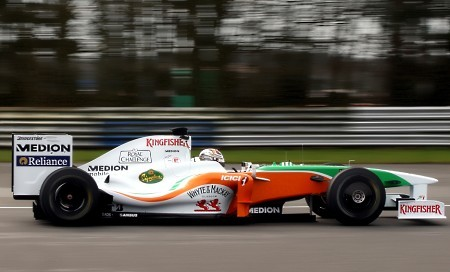 Desvelado el Force India VJM02