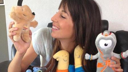 Almudena Cid, la bloguera oficial de JJOO, se pone nostálgica con Cobi... ¡qué tiempos aquellos!