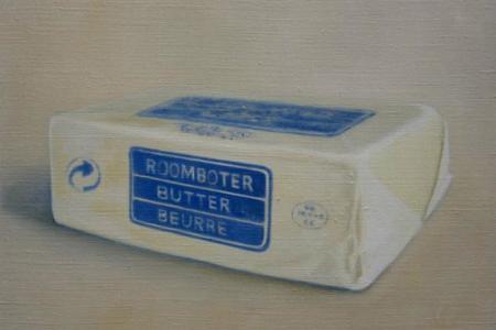 Erica Scheper y sus óleos dedicados a la leche y la mantequilla