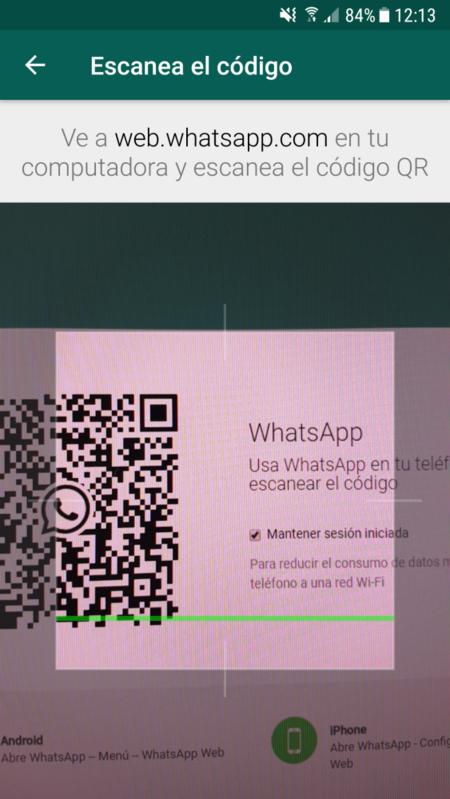 Escanea El Codigo Qr De Whatsapp Web