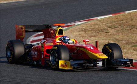 Fabio Leimer se lleva el mejor tiempo en el segundo día de pruebas de la GP2 en el Circuit de Catalunya