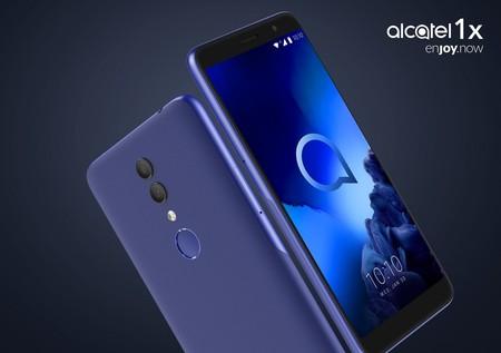 1X y 1C: la gama baja de Alcatel que veremos en México se renueva con doble cámara, Android Go y reconocimiento facial