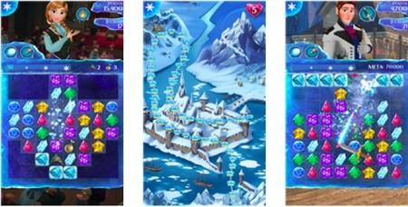Frozen Free Fall, el juego para Windows Phone de la película de animación Disney