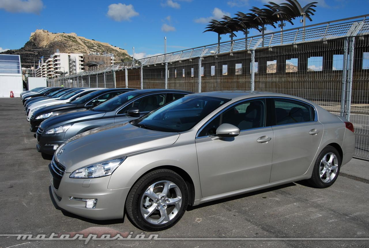 Foto de Peugeot 508 y 508 SW (presentación) (36/118)