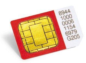 El precio de una tarjeta SIM