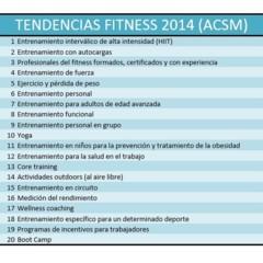 Foto 2 de 3 de la galería tendencias-fitness-2013-2014 en Vitónica