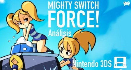 'Mighty Switch Force!' para Nintendo 3DS: análisis