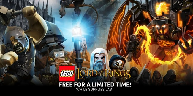 LEGO El Señor de los Anillos gratis para PC por tiempo muy limitado en Humble Bundle