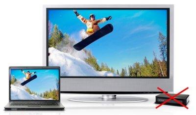 Intel WiDi pasará a estar integrado en los televisores y pantallas