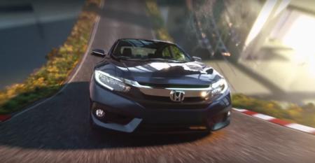 Este comercial del Honda Civic es producto de la imaginación pura