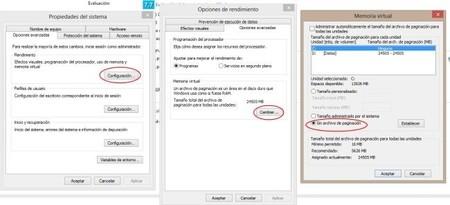 Cambiar el tamaño y la unidad de la memoria virtual en Windows 8