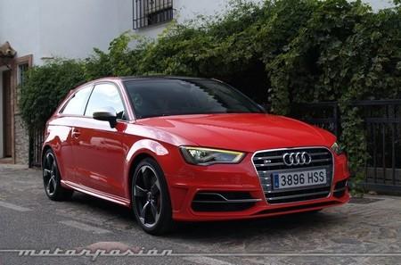 Audi S3 rojo presentación en Málaga 51