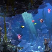 Lo nuevo de los creadores de Ratchet and Clank es un metroidvania con un pequeño submarino amarillo