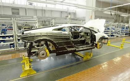 Fábrica Lamborghini