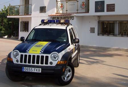 Jeep Cherokee policial