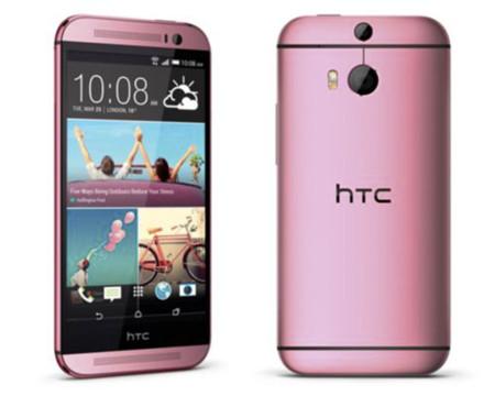El  HTC One (M8) rosa llega a Europa