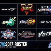 EVO 2017 confirma sus juegos de este año: Tekken 7, Injustice 2, además de otro que decidirá el público