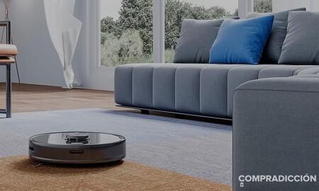 El Roborock S5 Max es un completo robot aspirador que también friega y ahora cuesta 155 euros menos en Amazon