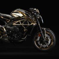 Sobredosis de fibra de carbono y dorado para la MV Agusta Dragster RC Shining Gold, un one-off sin precio