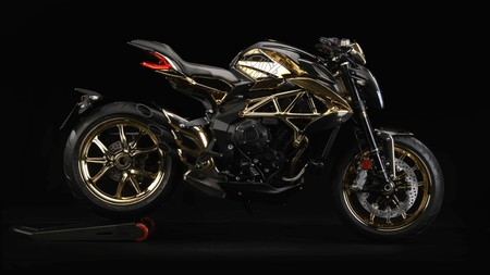 Mv Agusta Dragster Rc Shining Gold
