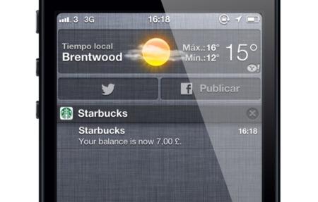 Pasbook Starbucks