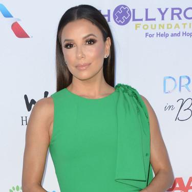 El verde esmeralda ya es una revolución, Eva Longoria lo vuelve a demostrar después de Charlene de Mónaco en menos de una semana