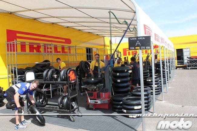 Zona de montaje Pirelli