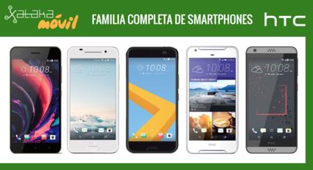 HTC Desire 10 Pro y Desire 10 Lifestyle, así quedan dentro del catálogo completo de móviles HTC