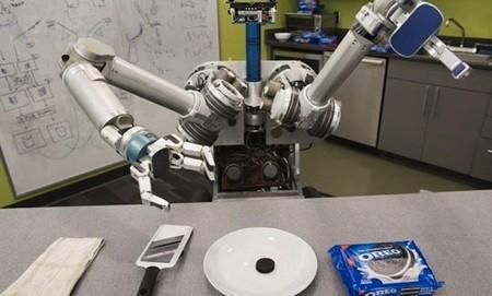 Herb, el robot que separa galletas Oreo