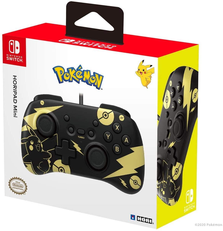 HORI Horipad Mini para Nintendo Switch de Pikachu