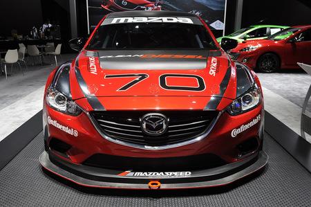 Así luce el Mazda 6 de carreras